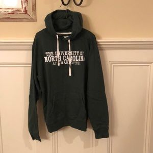 Women's UNC Charlotte hoodie, size large